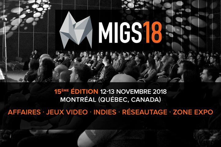 L'appel aux conférenciers de MIGS18 est maintenant ouvert !