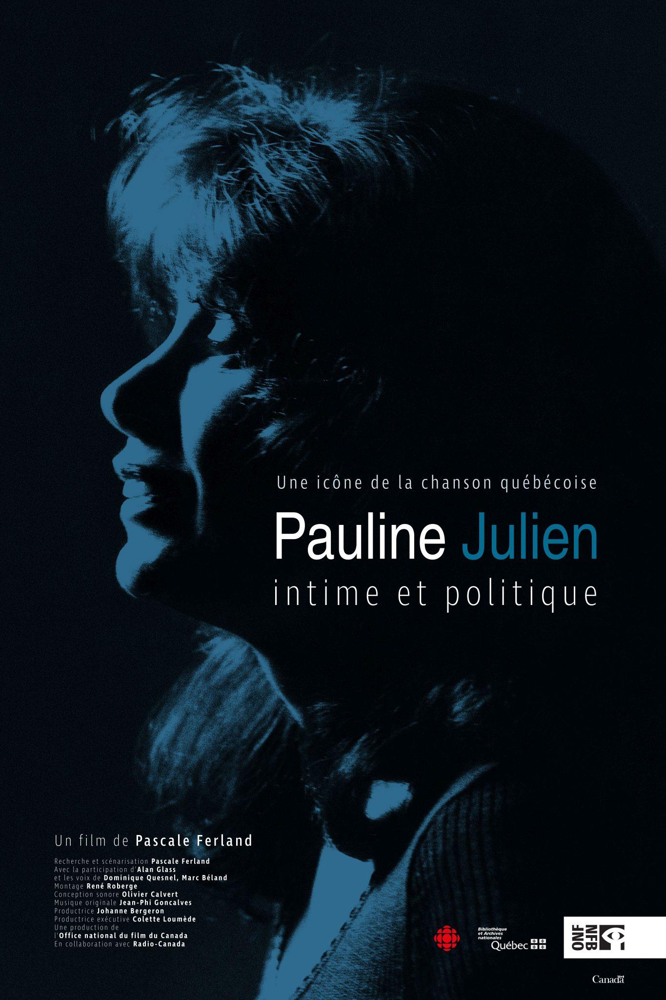 Pauline Julien, intime et politique offert gratuitement en ligne dès le 6 novembre