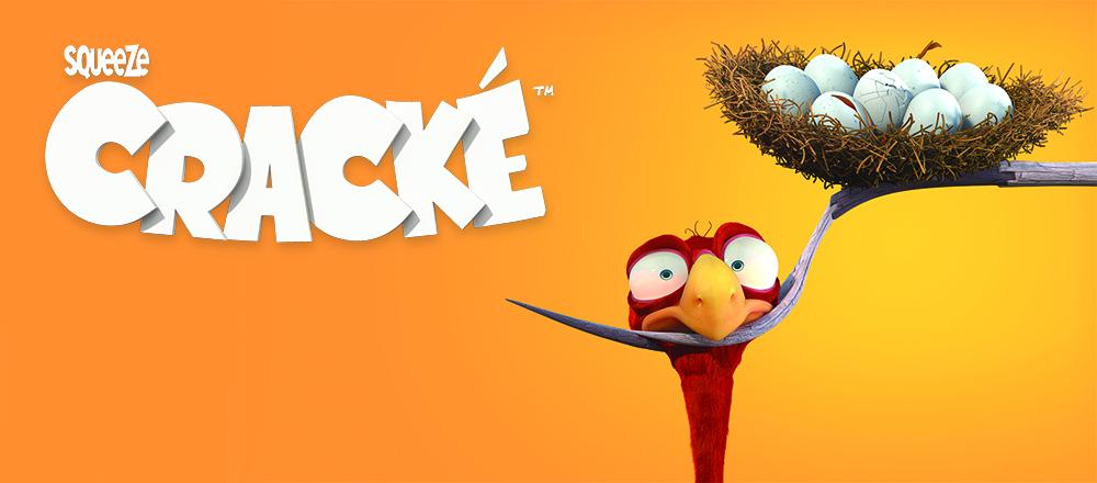 La comédie d'animation 3D Cracké débarque en Chine !