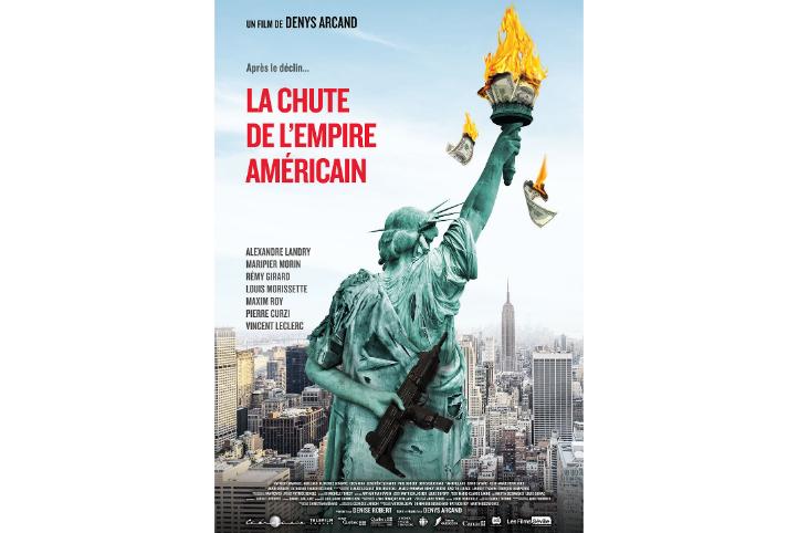 Les Films Séville annoncent que La chute de l'empire américain a passé le cap des 2 M$ au box-office