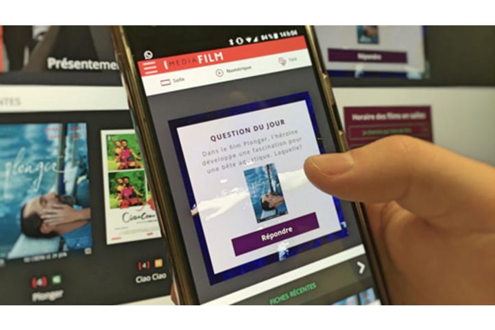 CinéQuiz de Mediafilm - Une question par jour dans un site adapté pour tous les écrans