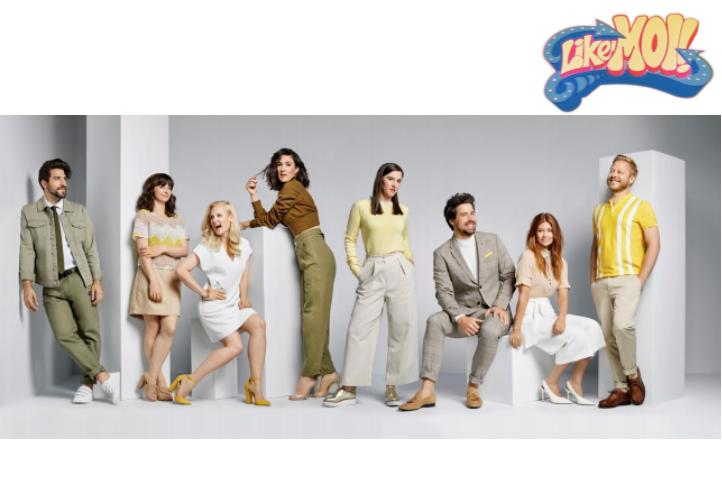 La nouvelle saison de la série Like-Moi!, diffusée sur Club Illico cet hiver
