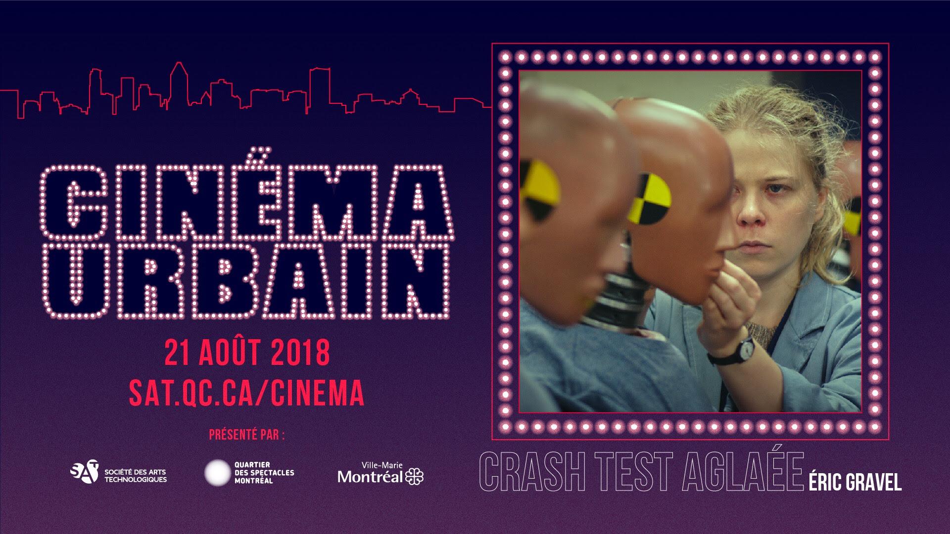 Première québécoise du Film Crash Test Aglaé réalisé par Éric Gravel