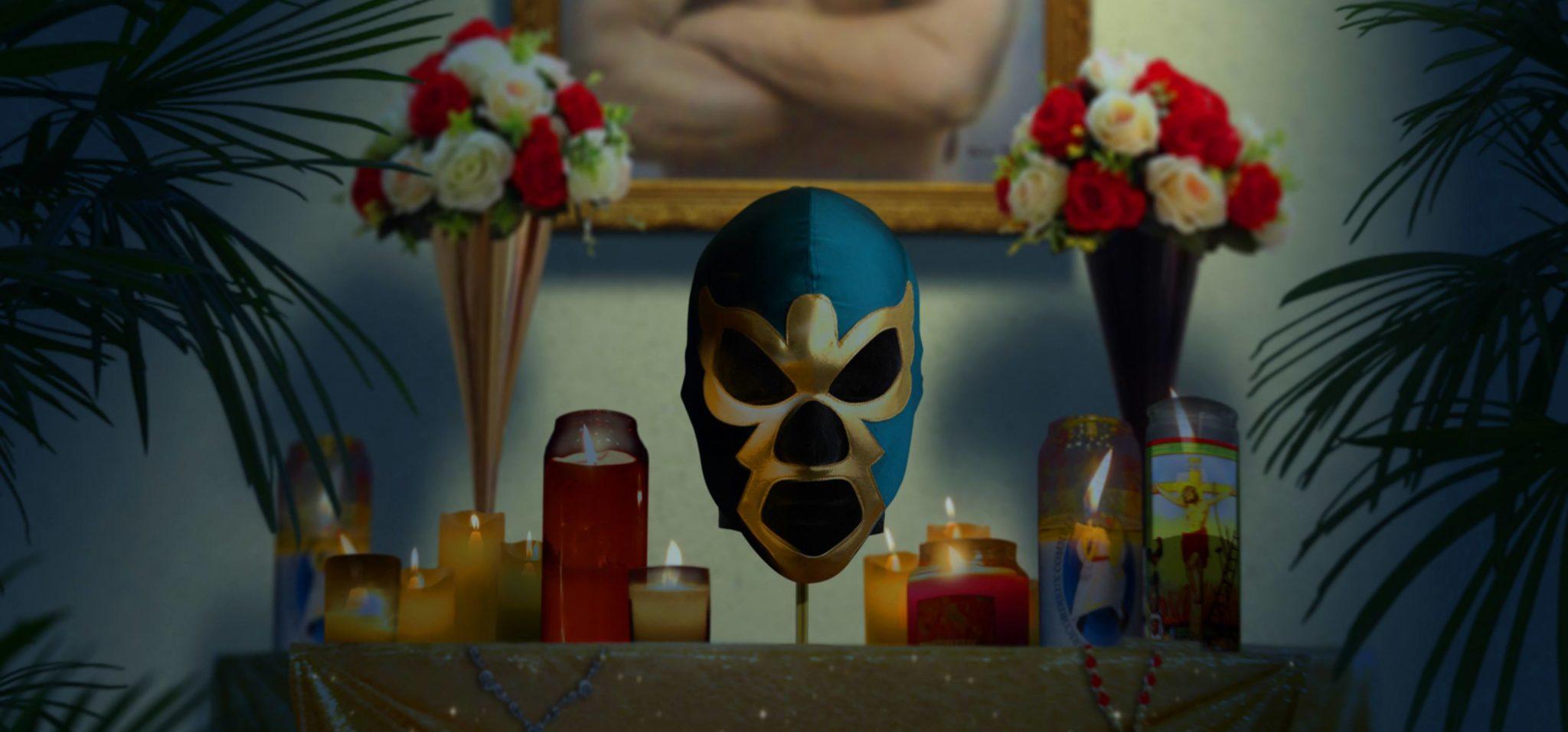 Jason Roy Léveillée combat des monstres dans l'épisode pilote des Aventures de l'Ange Doré