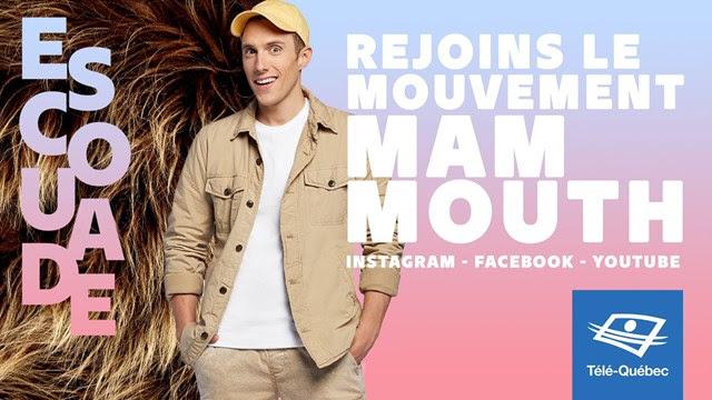 Pascal Morrissette parcourt le Québec avec l'Escouade MAMMOUTH