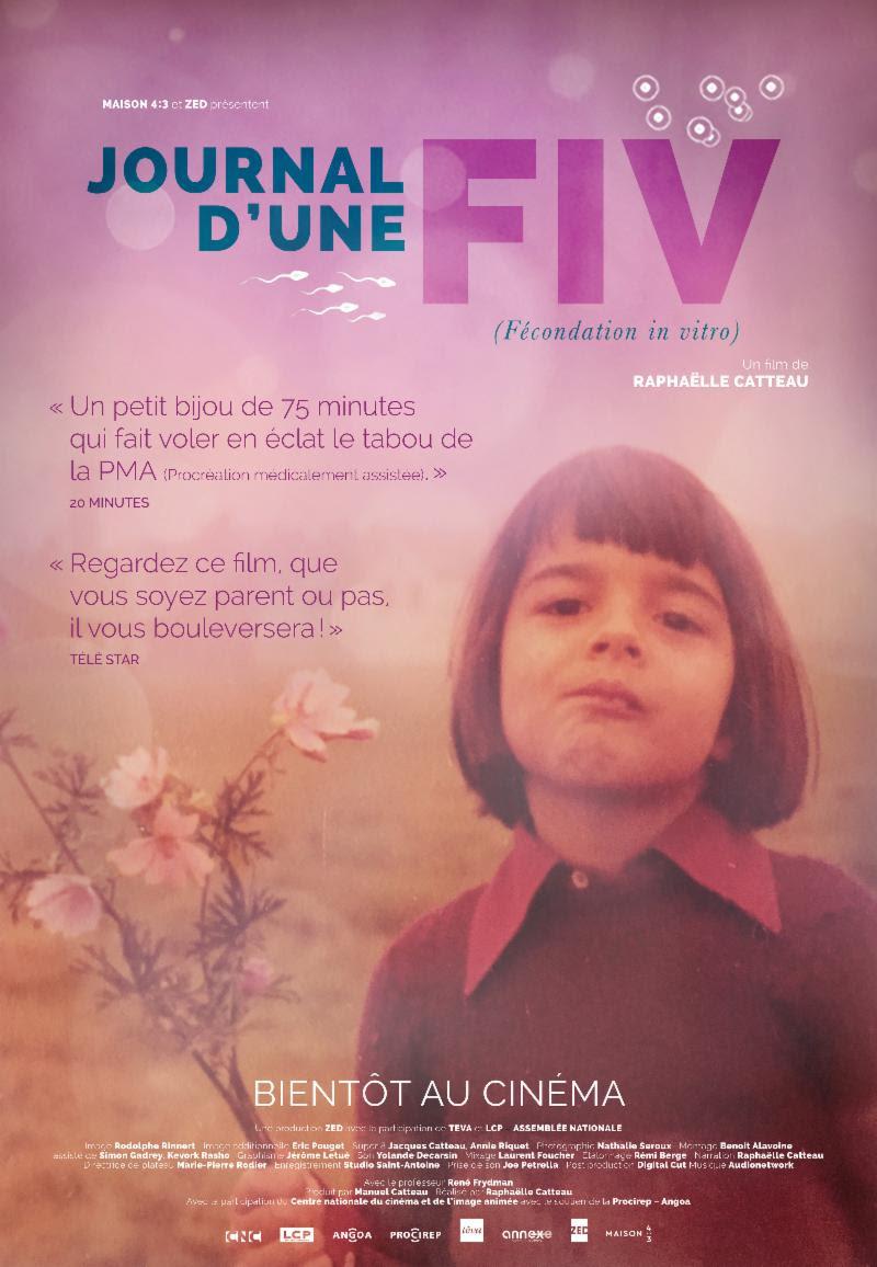 Sortie en salle du « Journal d'une FIV », un film de Raphaëlle Catteau