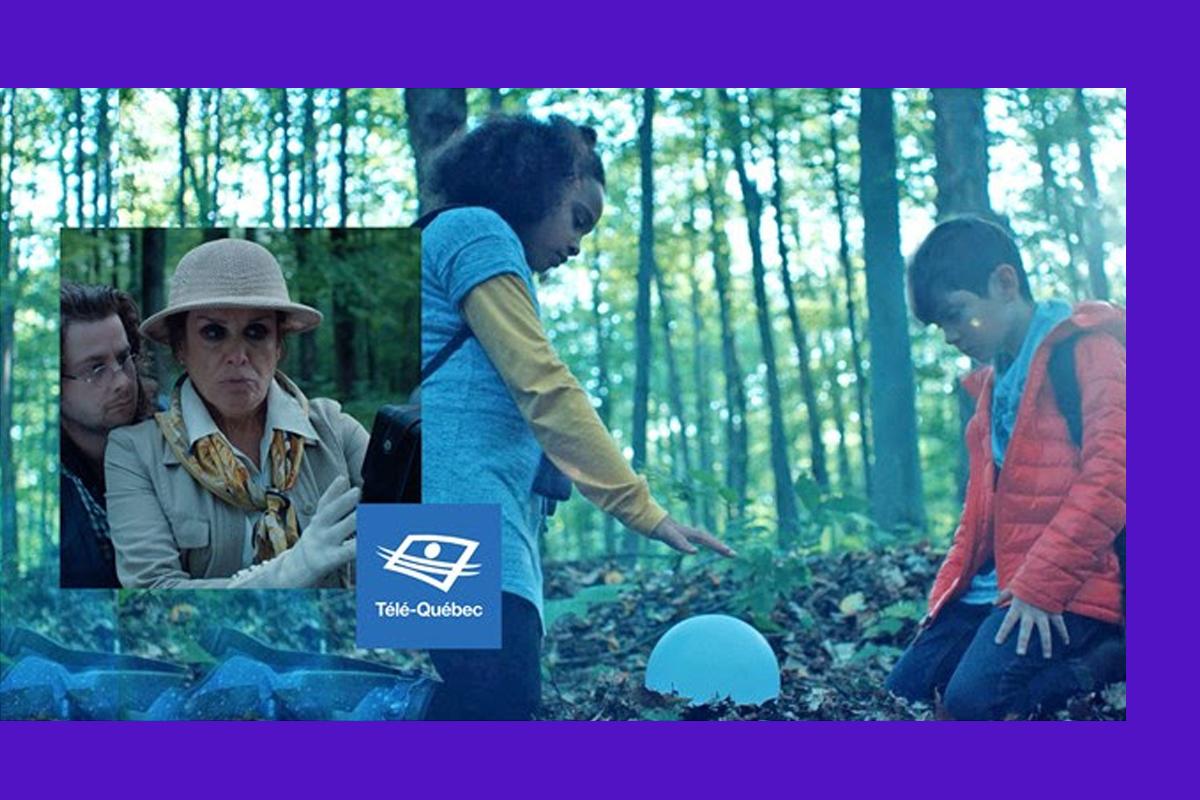 Télé-Québec présente sa toute nouvelle websérie fantastique, Les Mounches