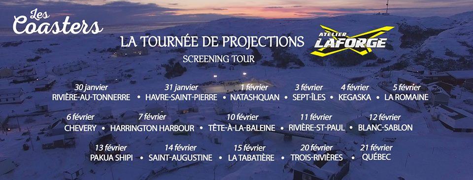 « Les Coasters », immersion au coeur de la Basse Côte-Nord  poursuit sa tournée
