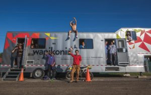 Le Wapikoni Mobile célèbre ses 15 ans au FNC les 10 et 11 octobre 2019 avec Samian et Natasha Kanapé-Fontaine