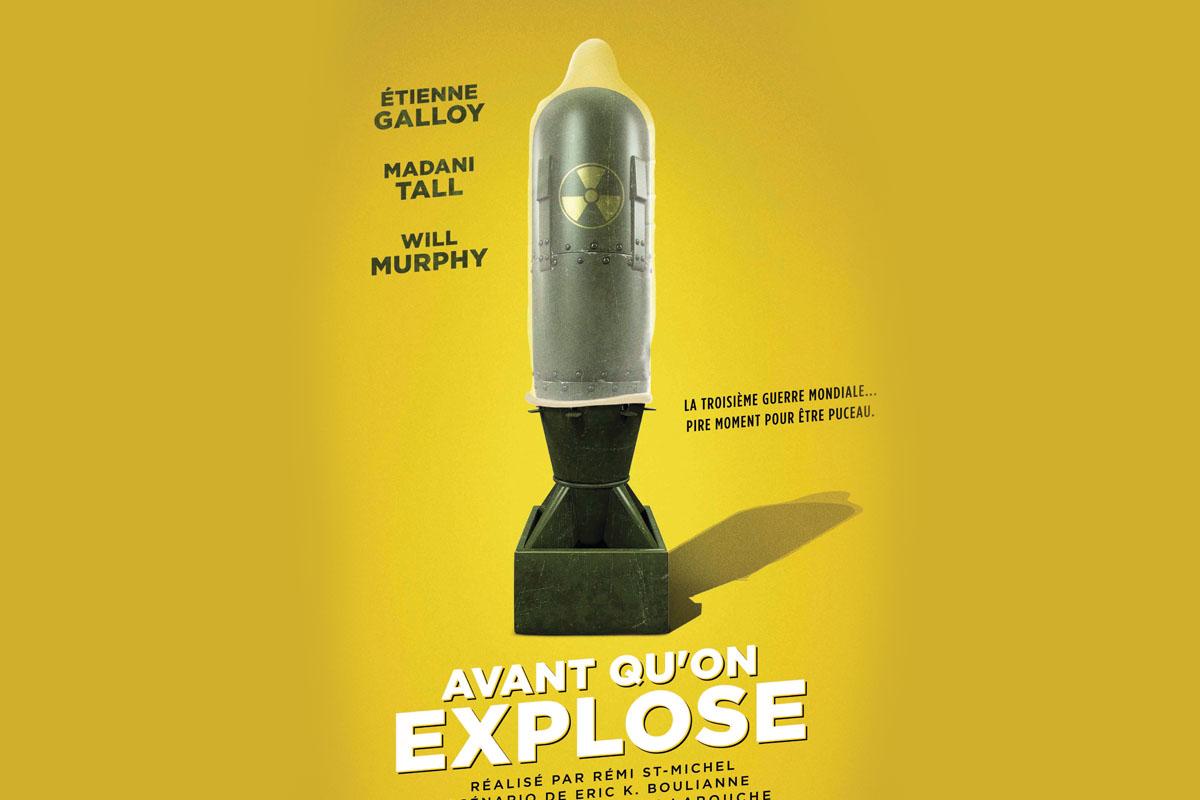 « Avant qu'on explose », Grande première en ouverture des RVQC et tournée au Québec!