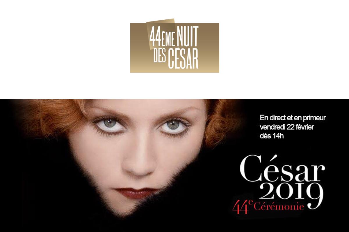 Les CÉSAR en direct sur Canal+ International ce vendredi 22 février 2019