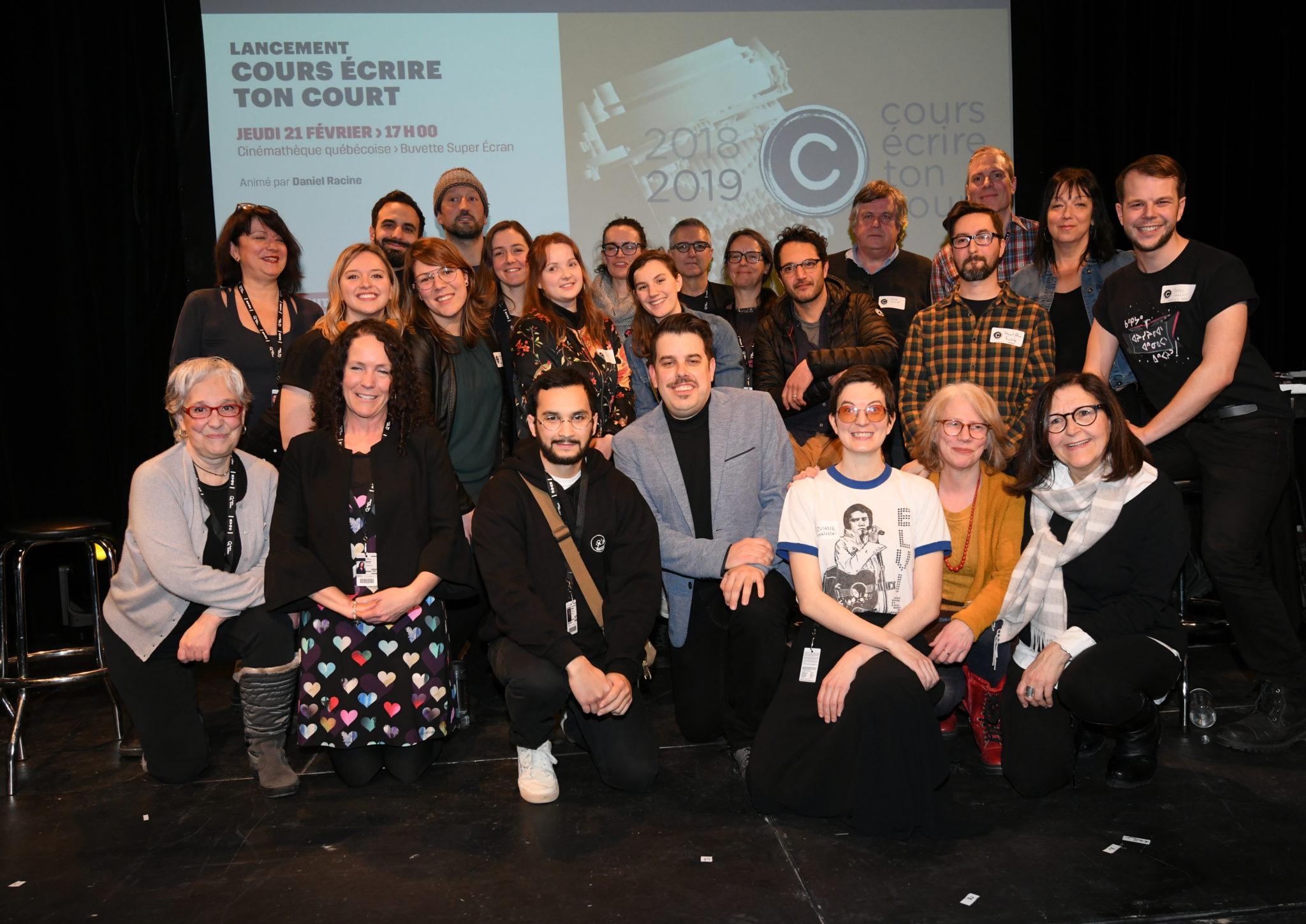Les sept finalistes de Cours écrire ton court 2019 sont enfin dévoilés