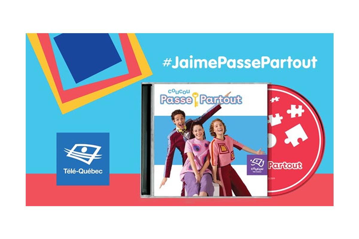 Télé-Québec lance l'album Coucou Passe-Partout