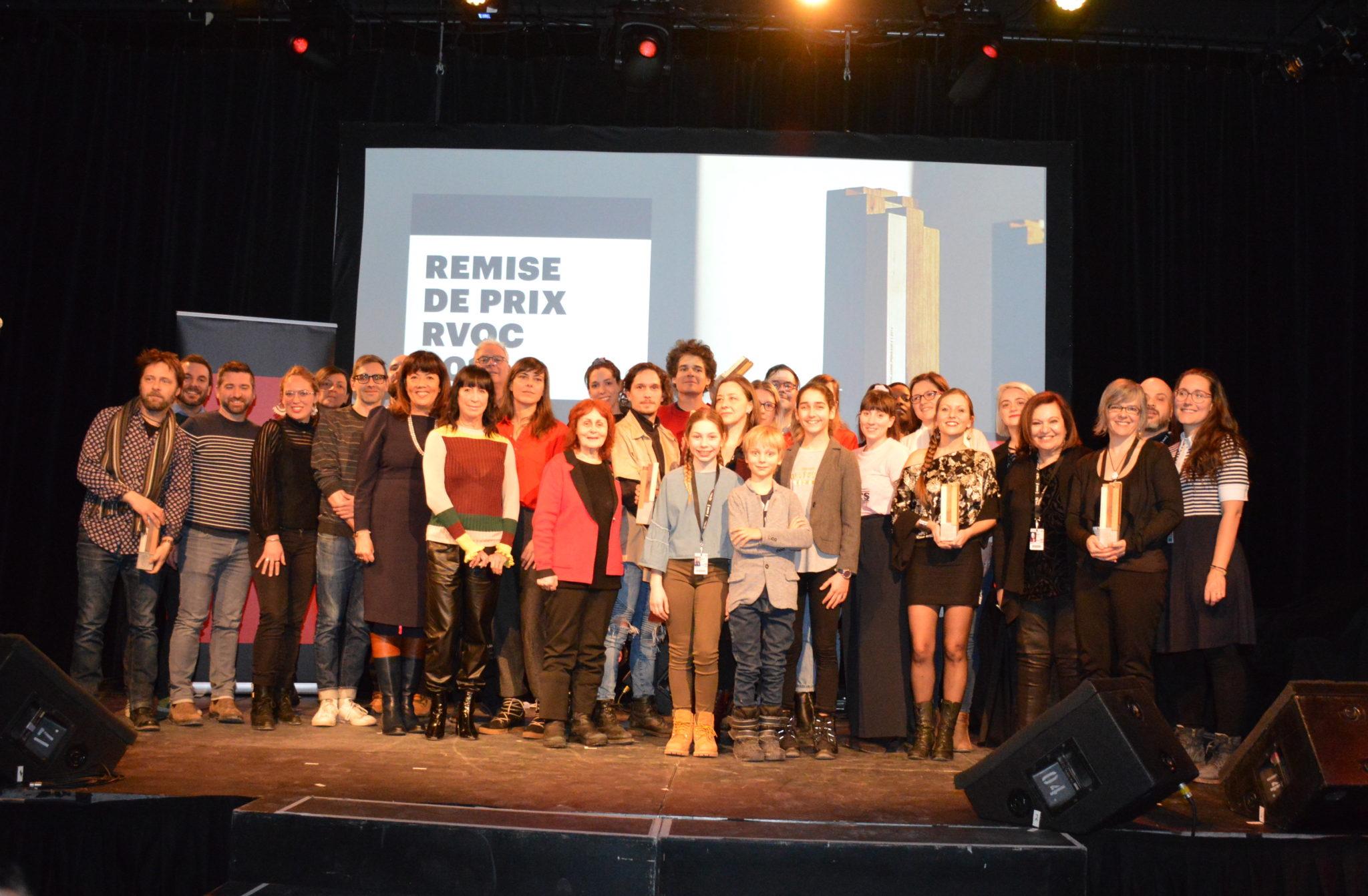 Les lauréats et lauréates des prix RVQC 2019 de la 37e Rendez-vous Québec Cinéma