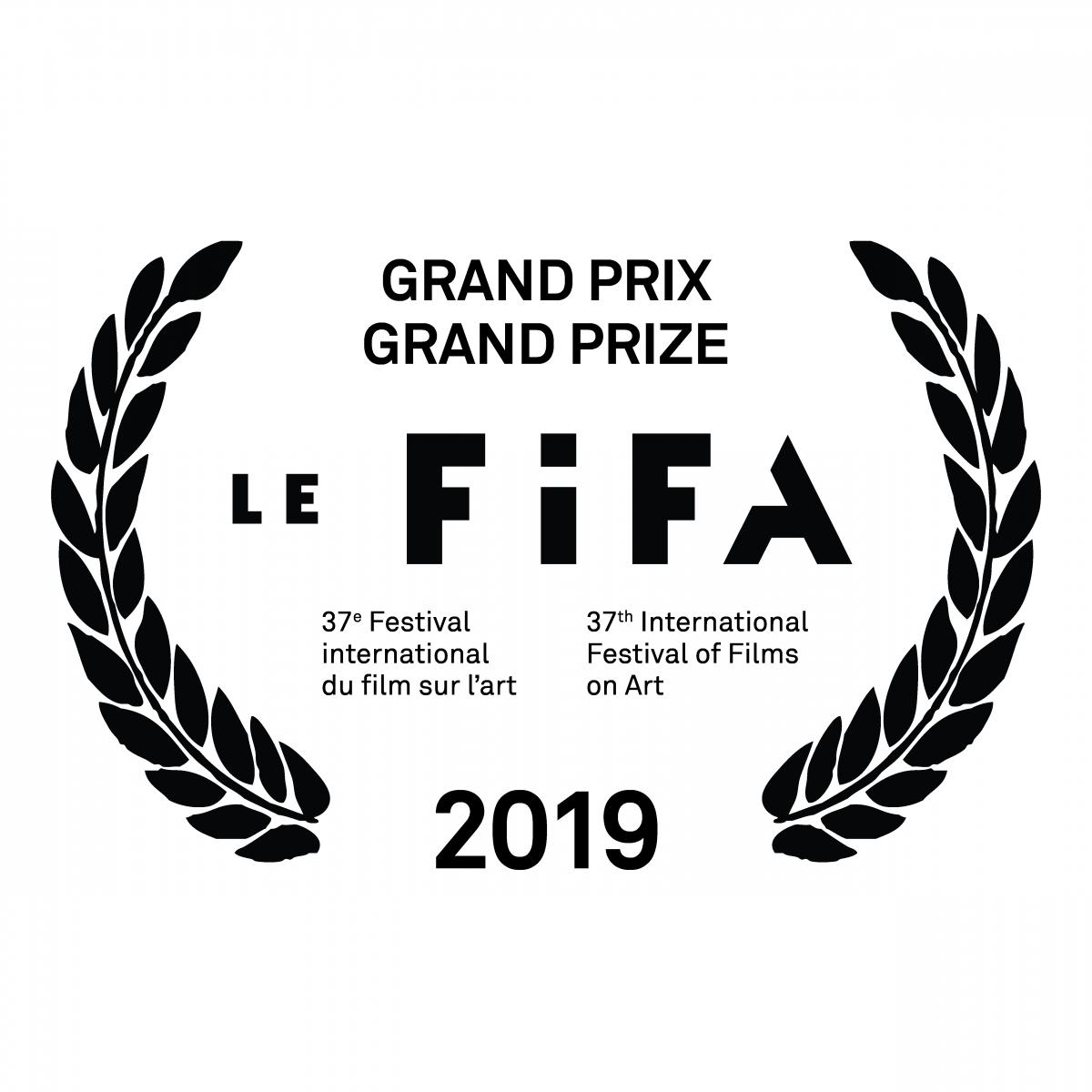 Le FIFA - Le 37e Festival international du film sur l'art dévoile son palmarès 2019