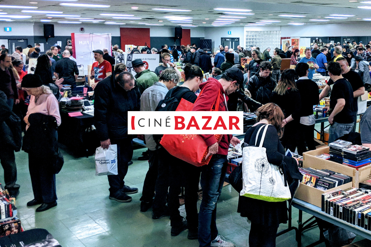 CINÉBAZAR - Samedi le 6 mars  2019 - La grande foire du cinéma de retour pour une 12e édition !