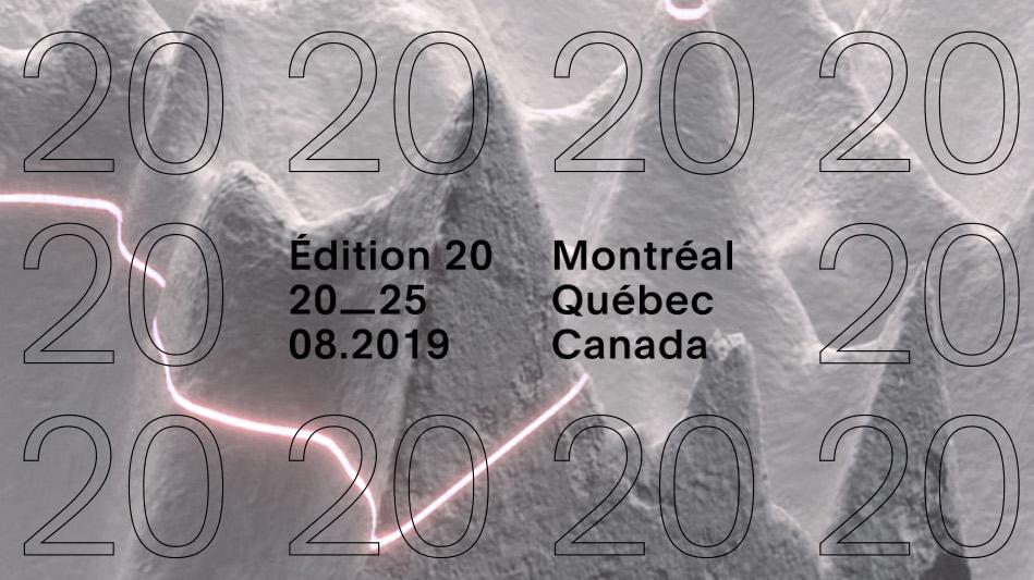 MUTEK_IMG du 20 au 22 août 2019 : IMAGINER LES FUTURS NUMÉRIQUES
