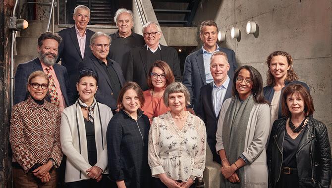 Le conseil d'administration 2019 du Partenariat du Quartier des spectacles