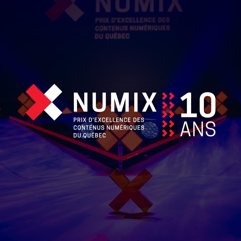 Gala NUMIX : qui sont les finalistes NUMIX 2019 ?