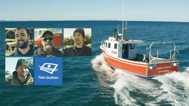 Télé-Québec - Les pêcheurs de « La course folle»  prennent la mer