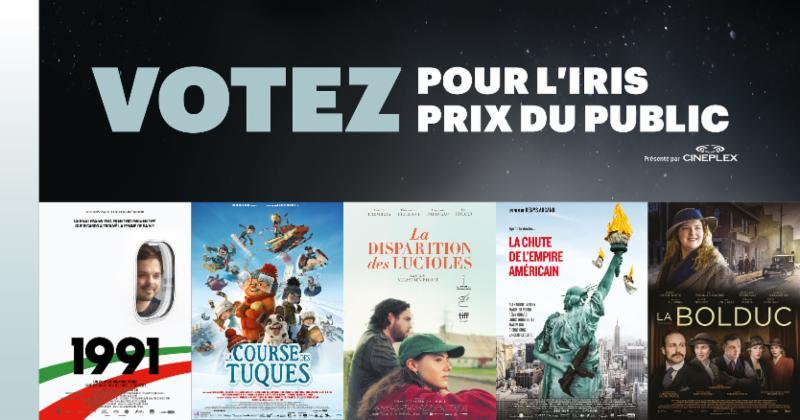 Gala Québec Cinéma : Votez pour le prix du public dès maintenant !