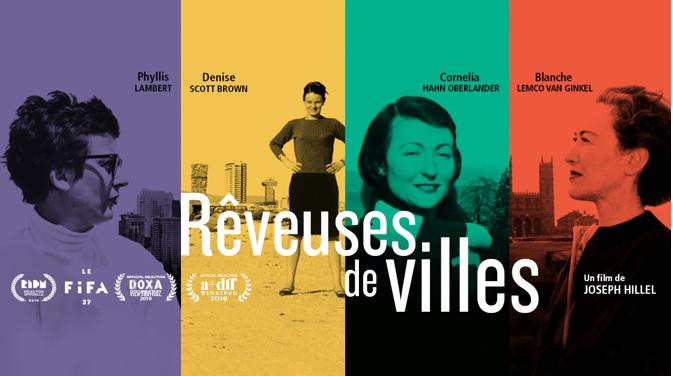 RÊVEUSES DE VILLES à l'affiche dès le 10 mai à Montréal, Québec et Sherbrooke