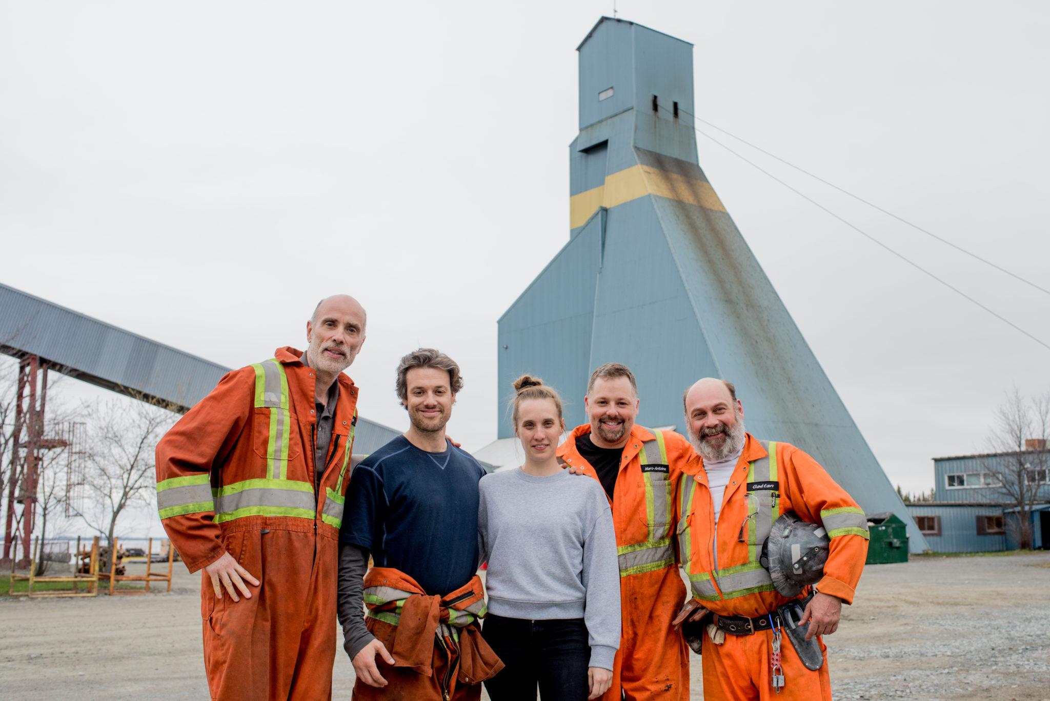 Sophie Dupuis tourne SOUTERRAIN avec Théodore Pellerin, James Hyndman et Joakim Robillard