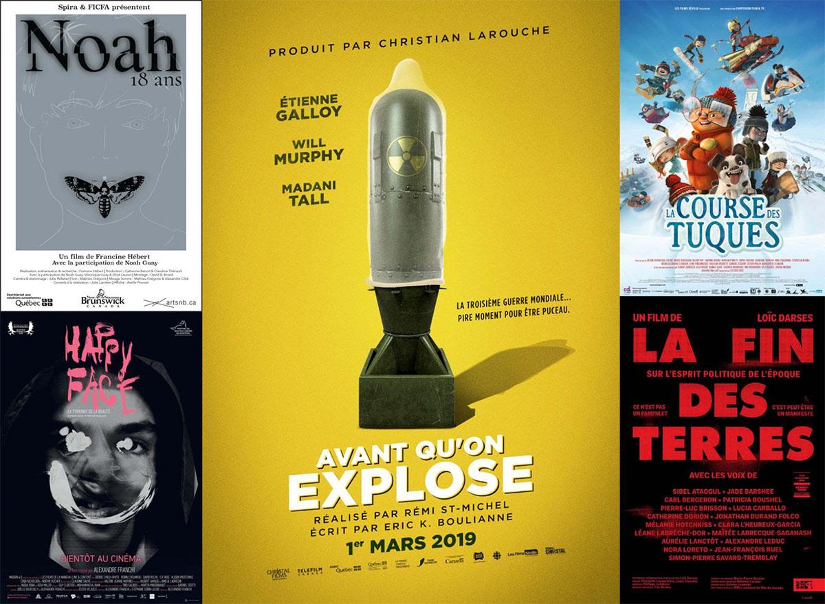 Grande finale de la tournée Québec Cinéma  avec 5 films primés projetés à Iqaluit