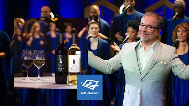 Télé-Québec - Y'a du monde à messe lance son vin, juste à temps pour son retour télé !