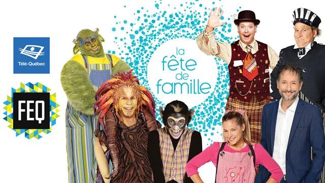 Télé-Québec présente son spectacle La fête de famille au Festival d'été de Québec