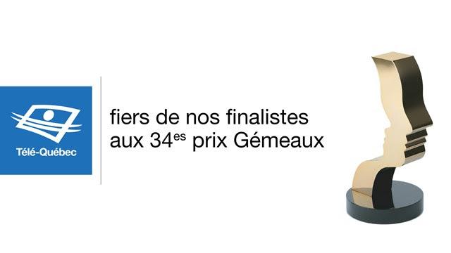 Cent quarante-trois nominations pour Télé-Québec aux prix Gémeaux 2019