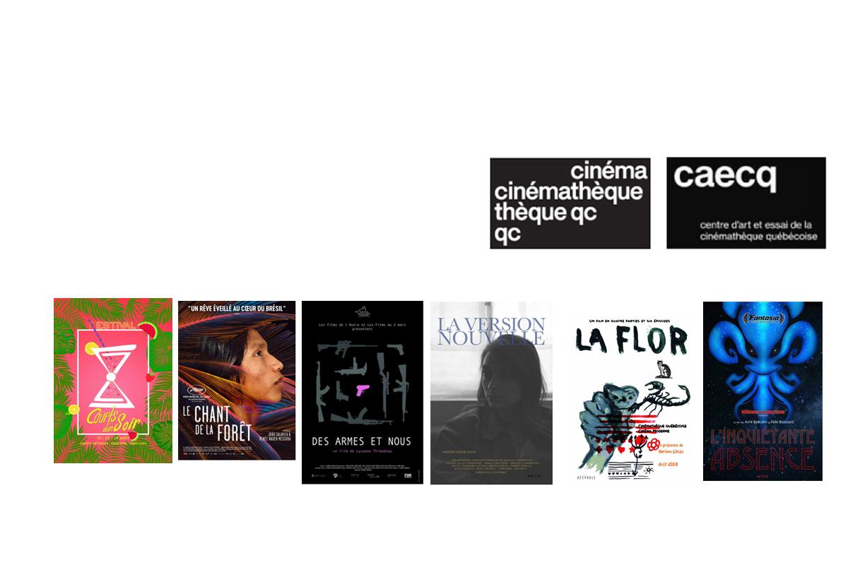 Programme du Centre art et essai de la Cinémathèque québécoise en août 2019!