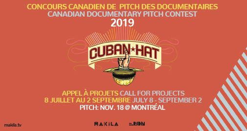 Forum RIDM - Appel à projets Pitch Cuban Hat 2019!