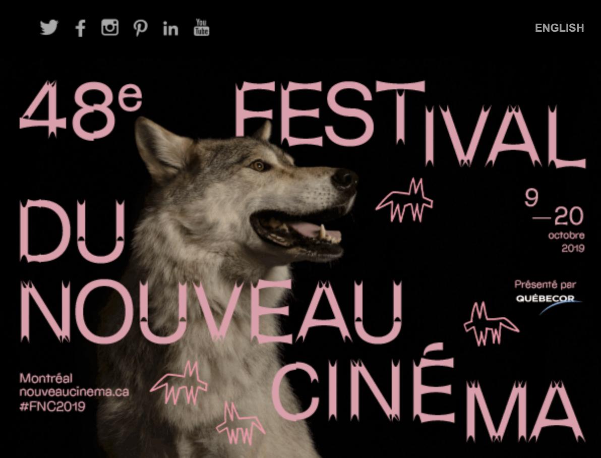 Le 48e édition du Festival du nouveau cinéma (FNC) commence aujourd'hui!
