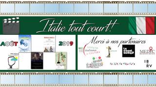 Italie Tout Court! du 9 au 11 août 2019