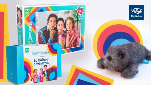 Jouer et apprendre en famille avec Télé-Québec et Passe-Partout