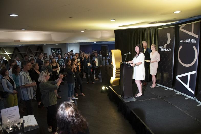 34es prix Gémeaux : les finalistes du Prix spécial de la relève et le lauréat du Prix spécial des artisans sont dévoilés