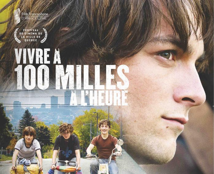 TAPIS ROUGE du film de Louis Bélanger,  Vivre à 100 milles à l'heure