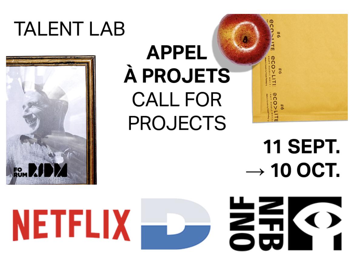 Forum RIDM - Appel à candidatures pour le Talent Lab 2019