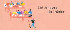 Les artisans de l'atelier de Daniel Léger clôt sa tournée des Provinces atlantiques à Memramcook le 19 septembre 2019
