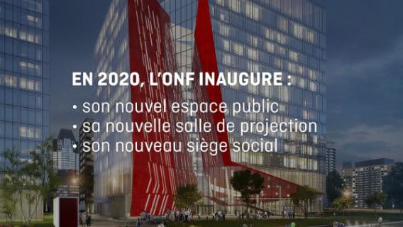 Le siège social de l'ONF arrive au centre-ville de Montréal