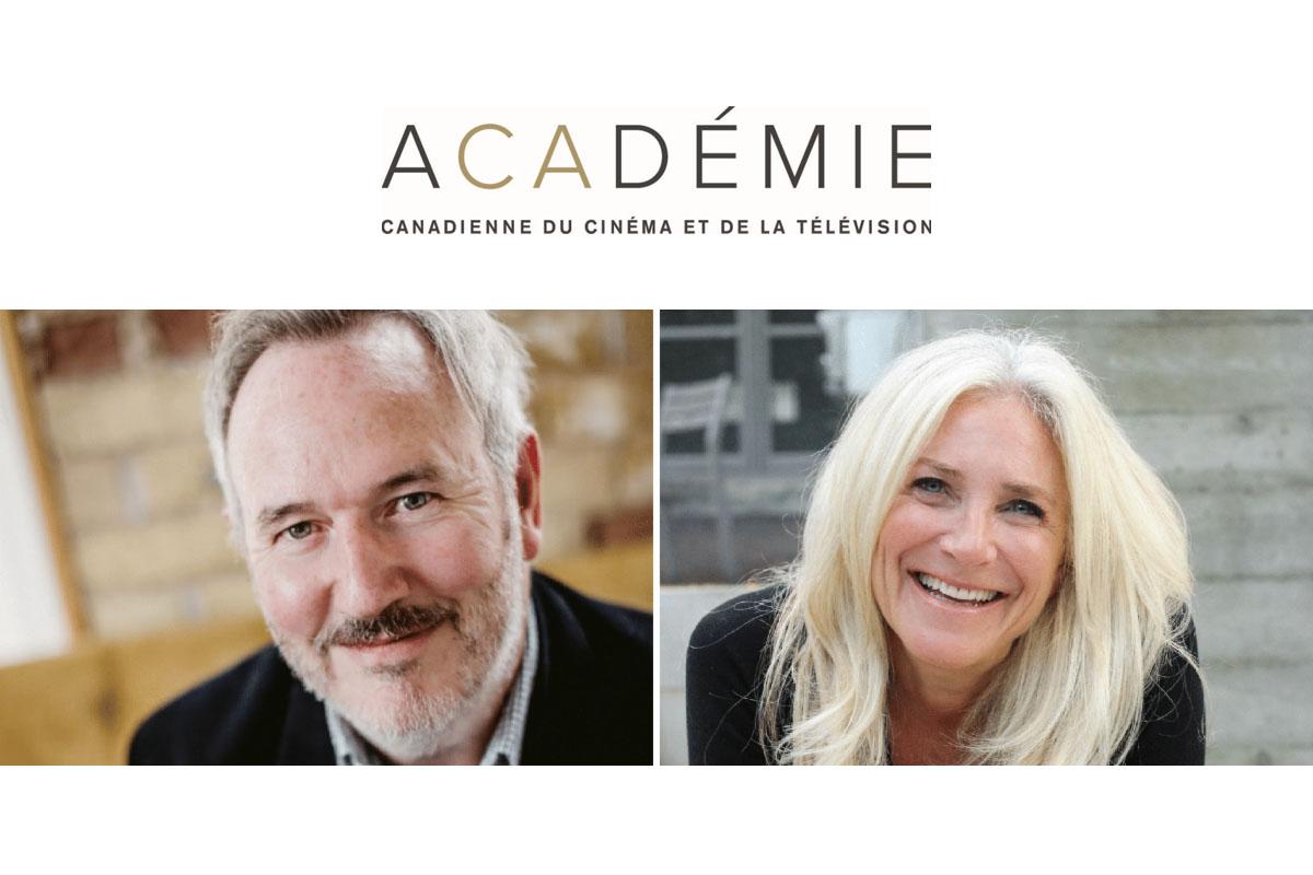 L'Académie annonce un nouveau président et une nouvelle vice-présidente du conseil d'administration national