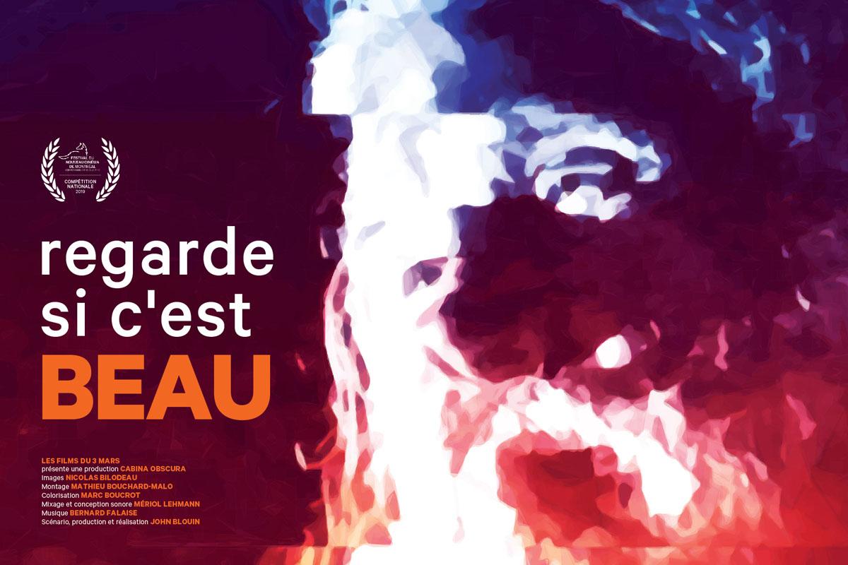 VAILLANCOURT, REGARDE SI C'EST BEAU de John Blouin en première mondiale au FNC 2019