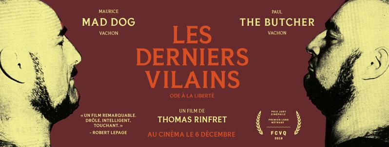 « LES DERNIERS VILAINS », en salle dès le 6 décembre 2019 partout au Québec