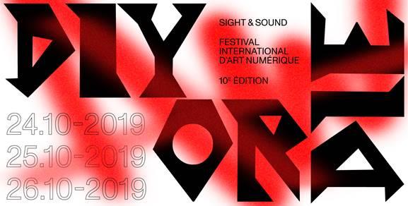 Rappel : SIGHT & SOUND, la 10e édition du festival international d'art numérique débute ce jeudi 24 octobre 2019