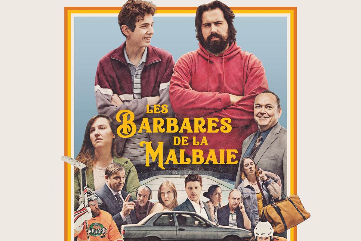 Les Barbares de La Malbaie au cinéma partout au Québec le 22 novembre 2019