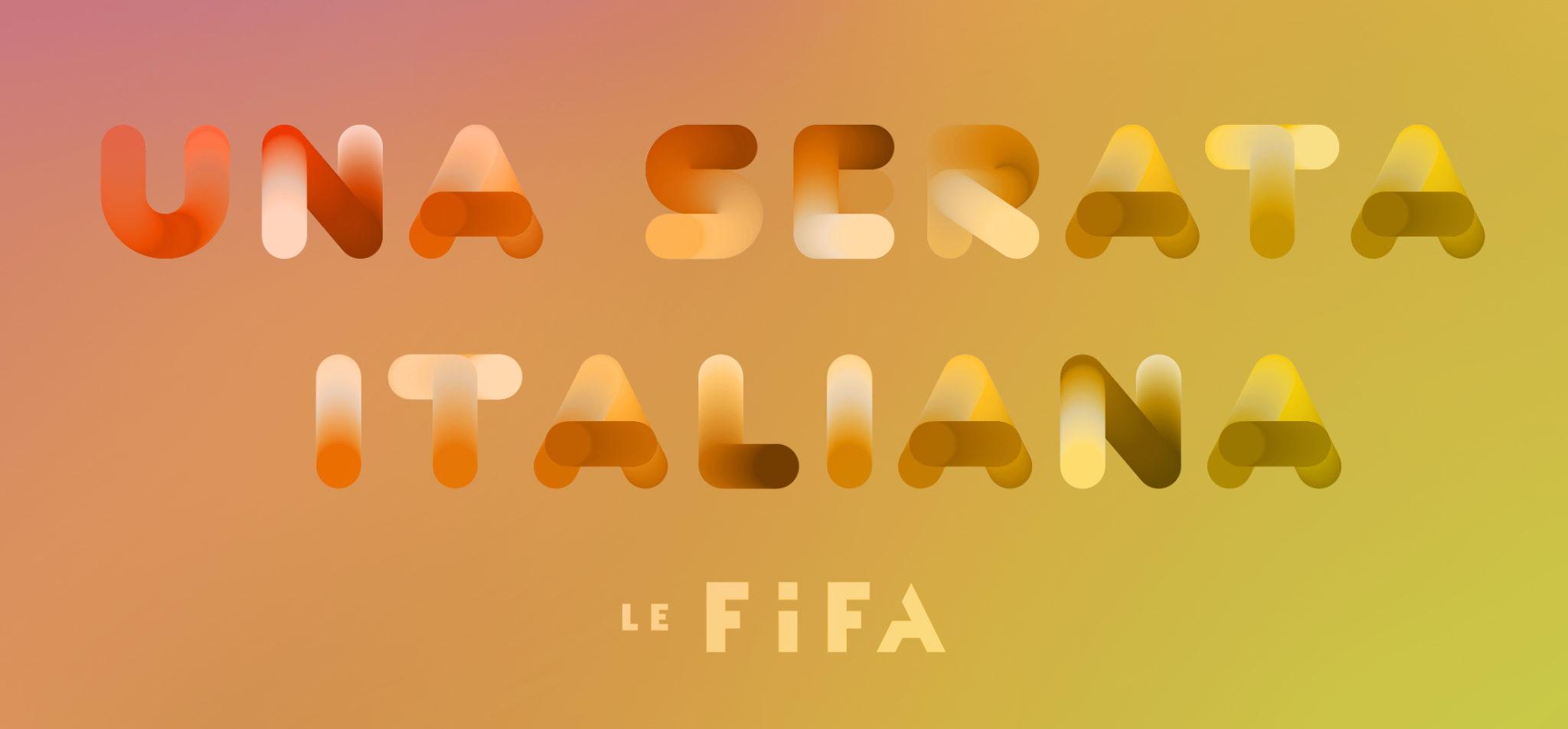 Soirée-bénéfice du FIFA, une invitation à célébrer l'Italie et les arts!