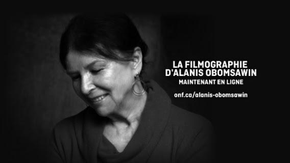 ONF- La filmographie d'Alanis Obomsawin maintenant en ligne sur ONF.ca
