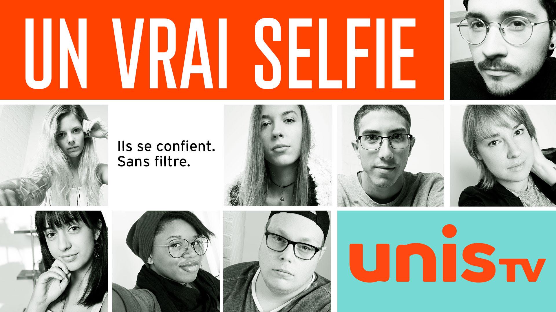 Un vrai selfie, une nouvelle saison sur Unis TV qui aborde les enjeux de santé mentale