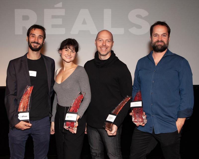 L'Association des réalisateurs et réalisatrices du Québec (ARRQ) présente les gagnants des Prix RÉALS 2019